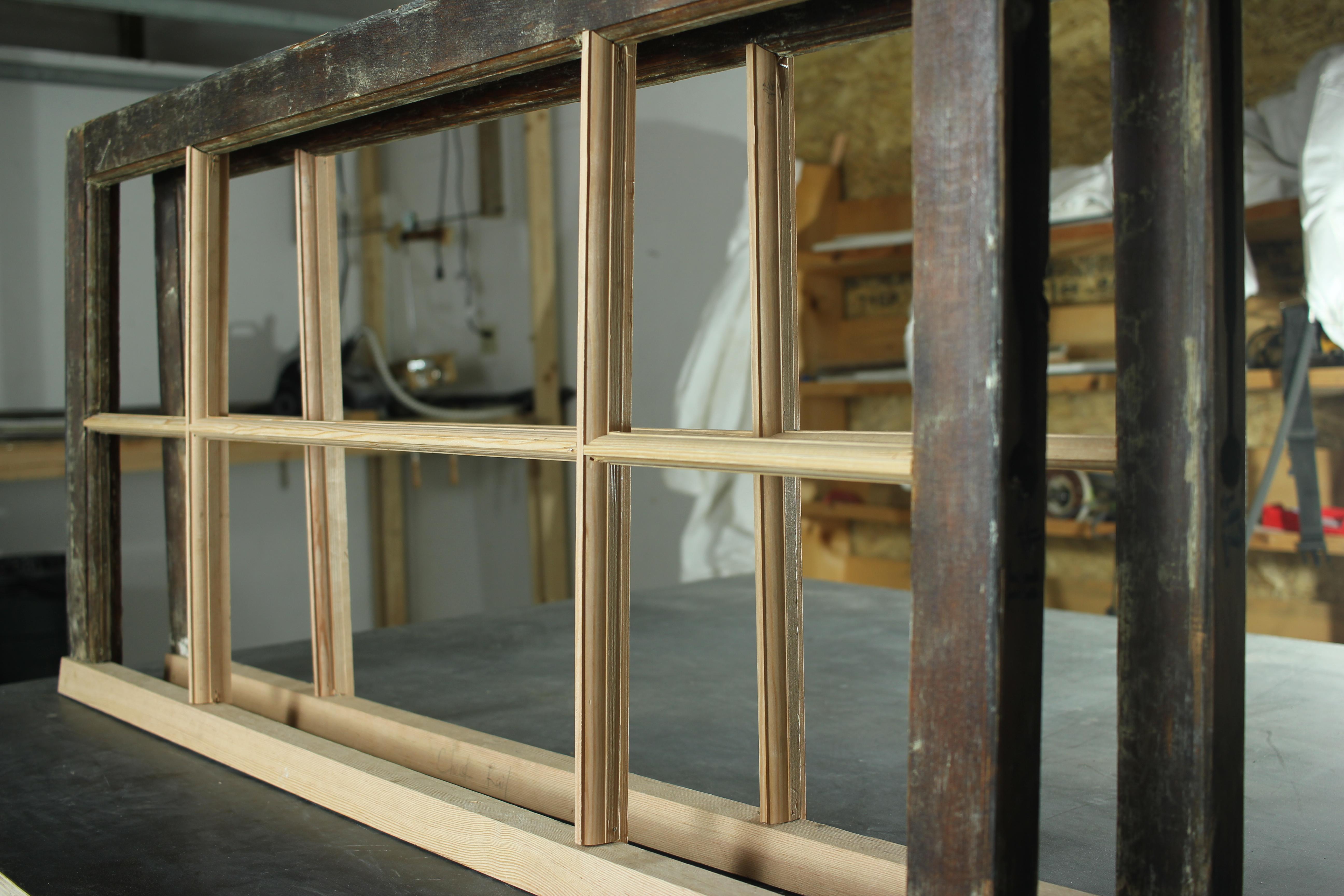 Wood working windows
