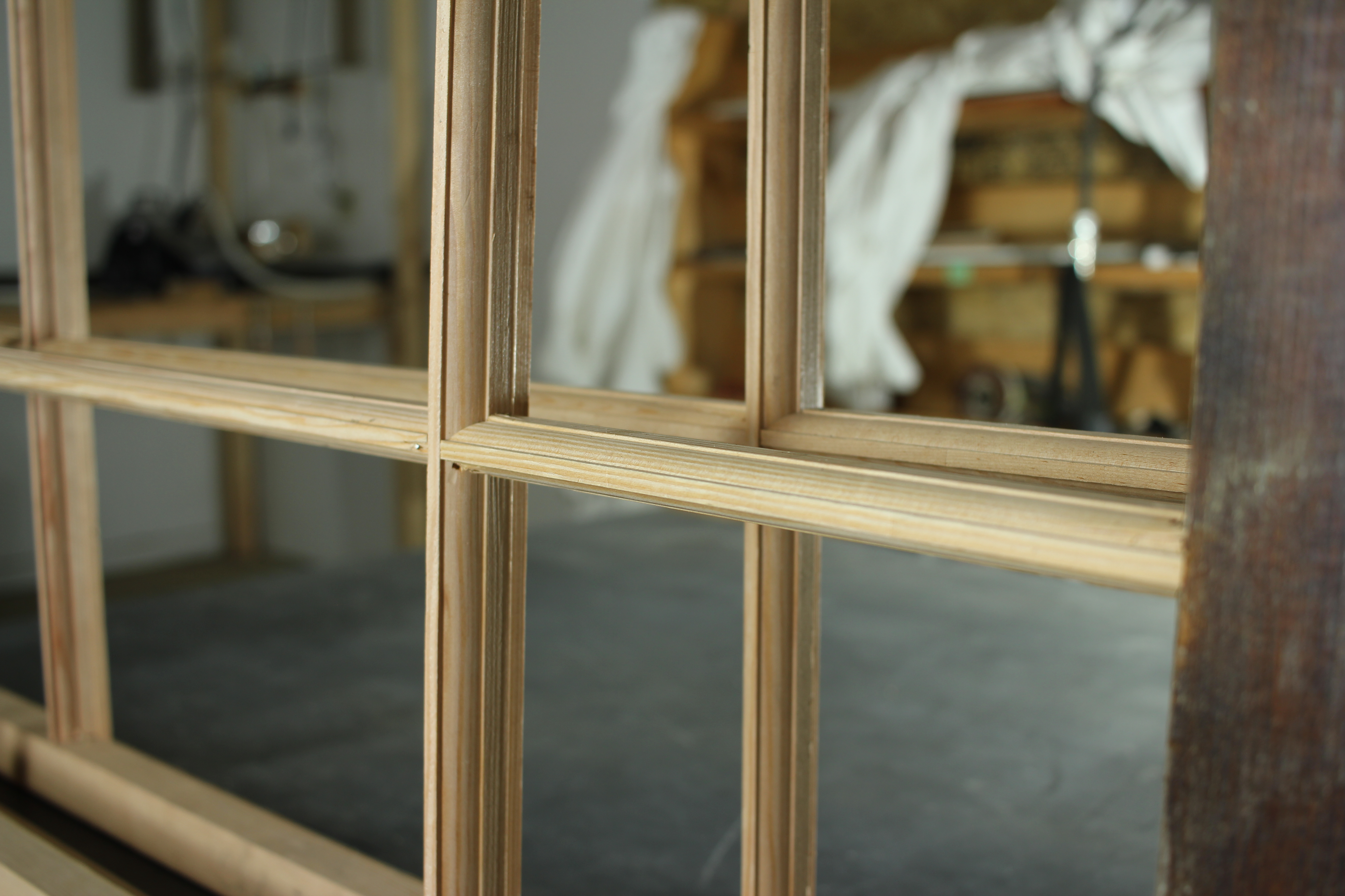 wood window profile