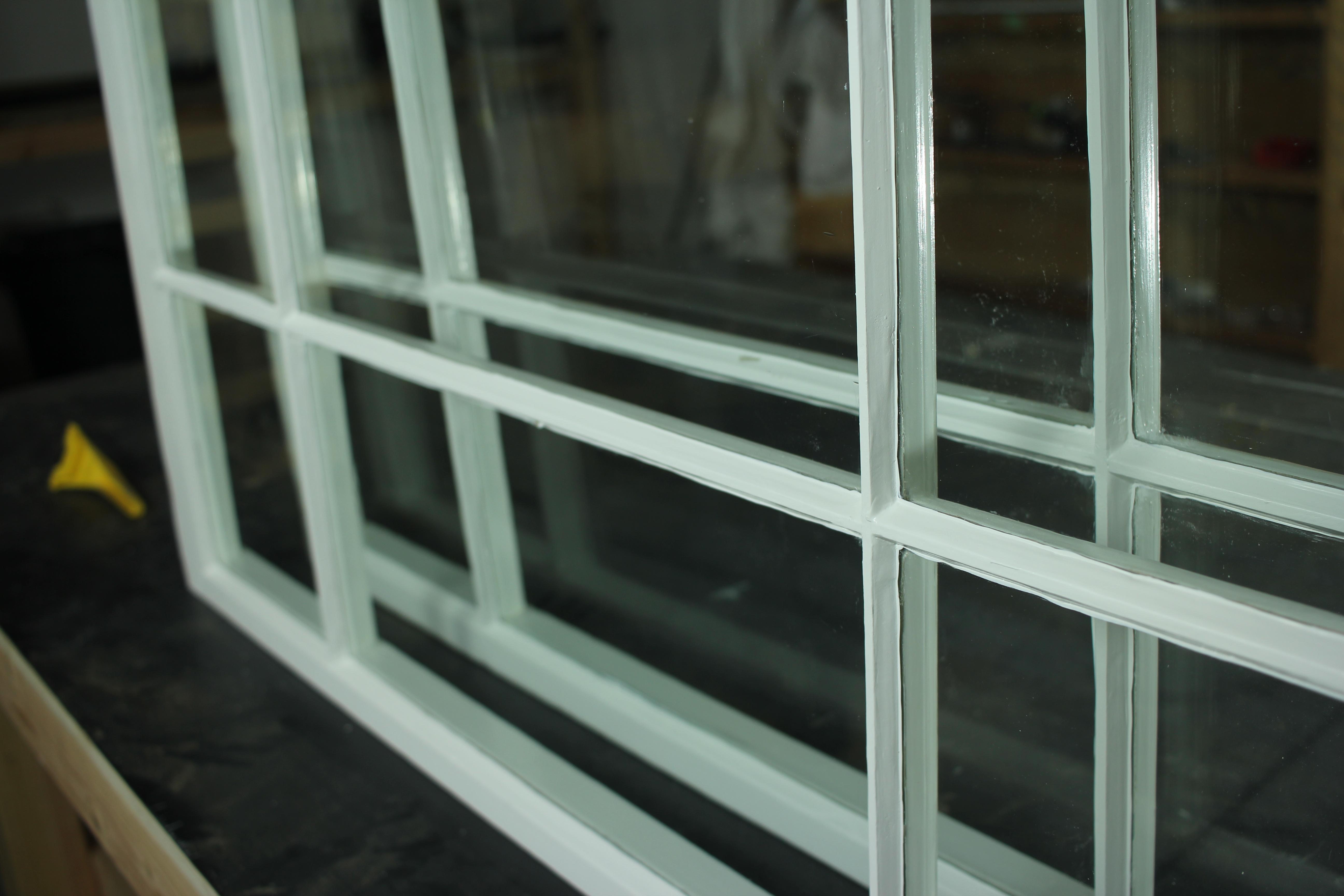 painted wood window top coat