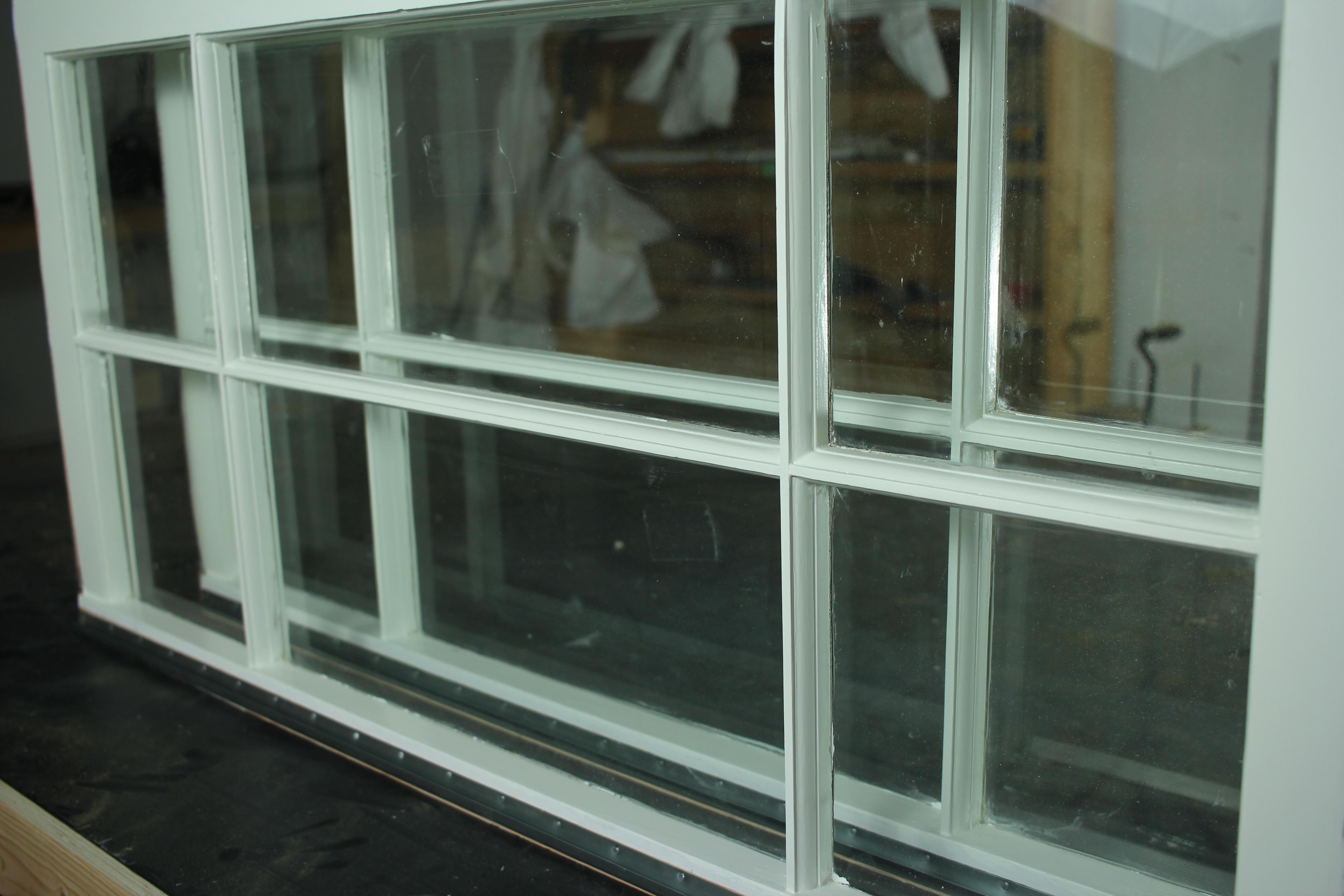 painting wood windows