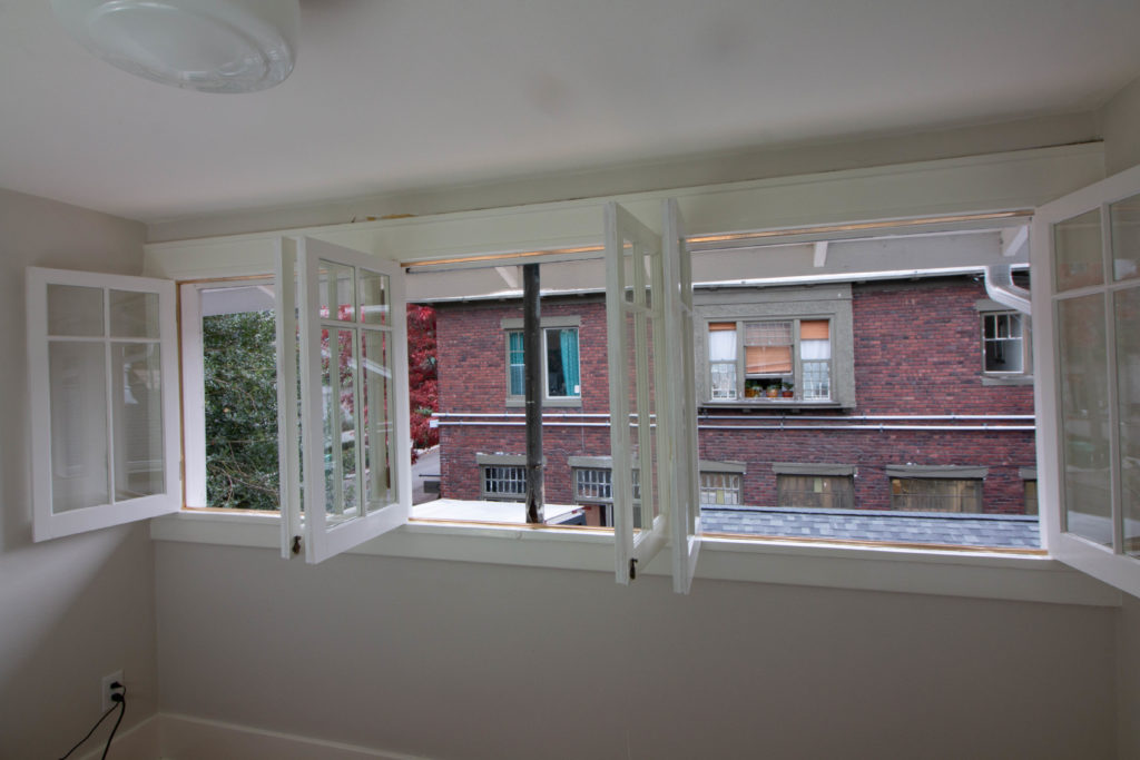 in-swing casement windows that are opened
