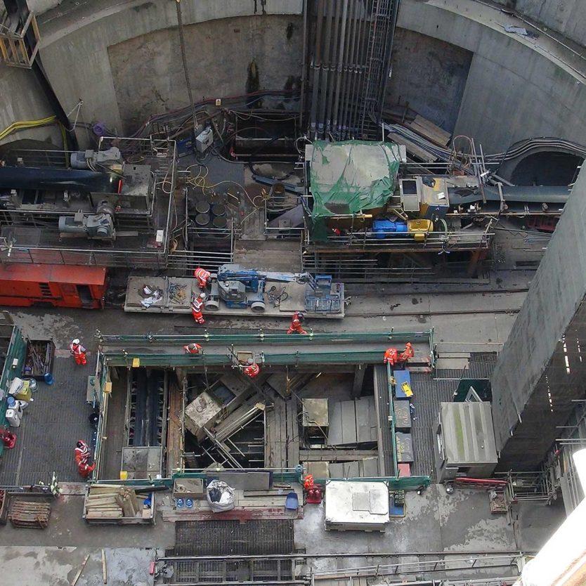 building pit