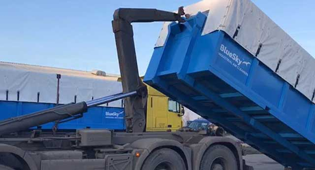 mobile dust-collector for asbestos