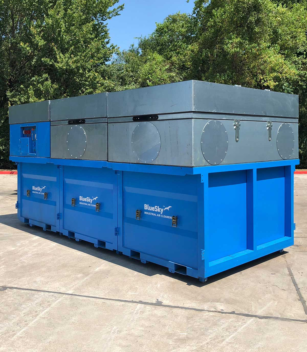 industrial dust collector manufacturers BlueSky
