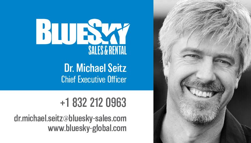 BlueSky Sales cards-Michael