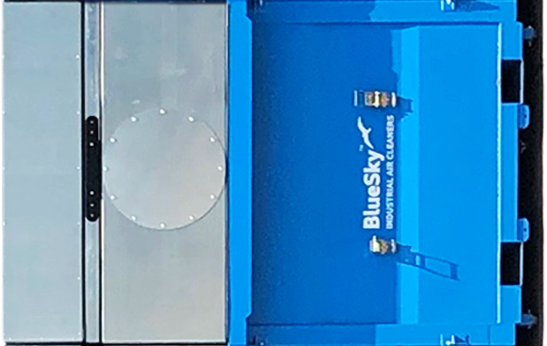 BlueSky-6-section-dust-collector-left-to-right-section-5V