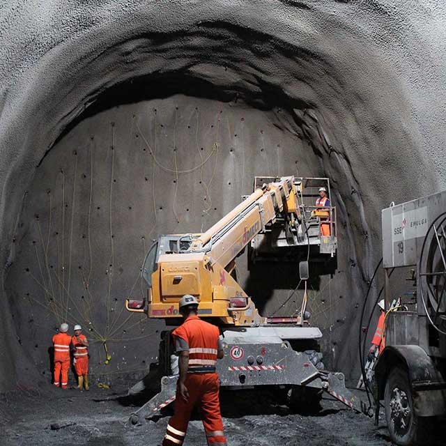 tunnel construction-dust-collector