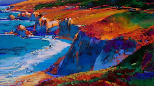 """Painting """"Big Sur"""""""