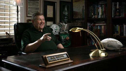 Jack Lengyel in office
