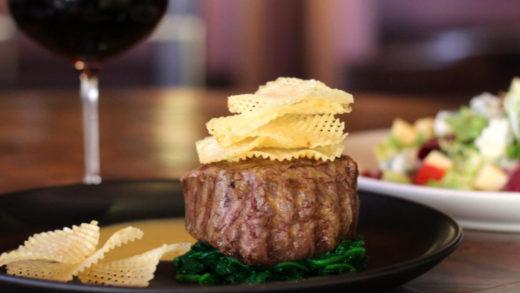 J&G Steakhouse dish