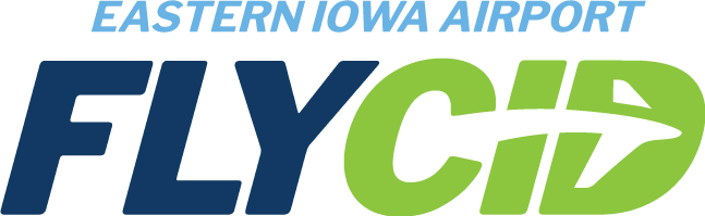 Eastern Iowa Airport - Fly CID Logo