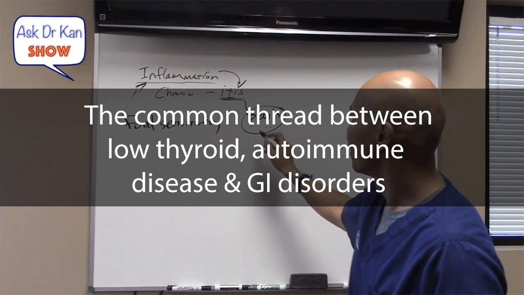 The common thread between low thyroid, autoimmune disease & GI disorders