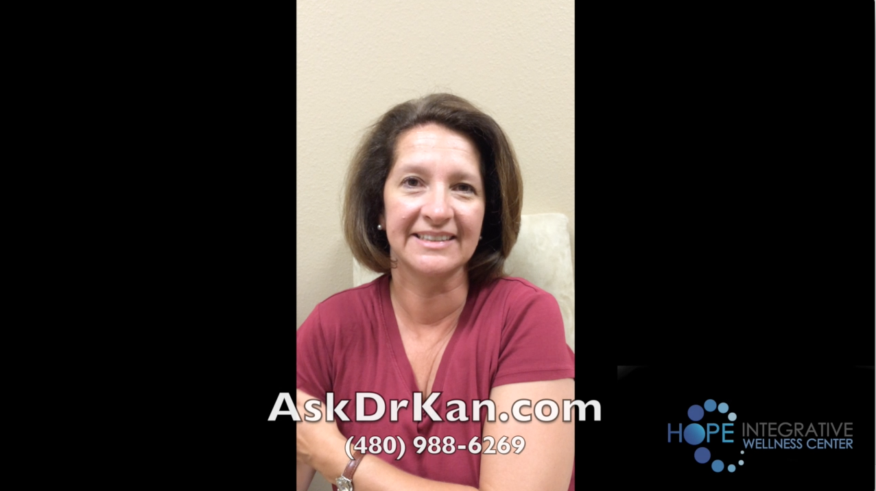 Video Testimonial – Thyroid Hashimoto's patient with severe fatigue, brain fog and stomach pain got her life back