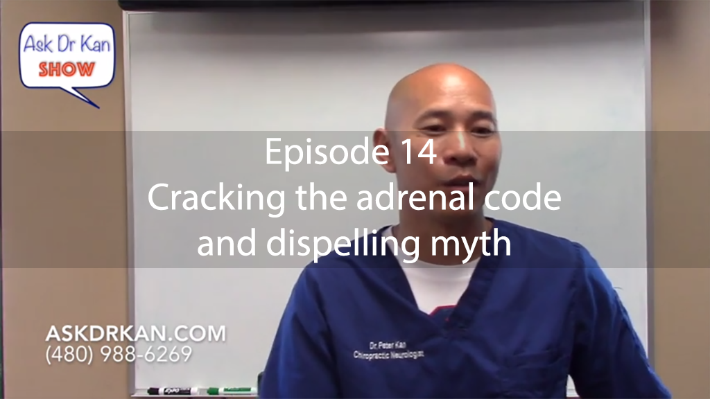 AskDrKan Show – Episode 14 – Cracking the adrenal code and dispelling myth