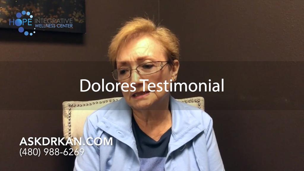 Dolores Testimonial