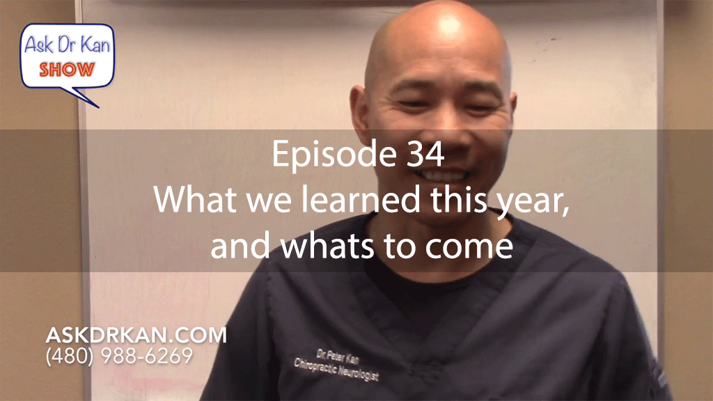 AskDrKanEpisode34 – What we learned this year, and whats to come