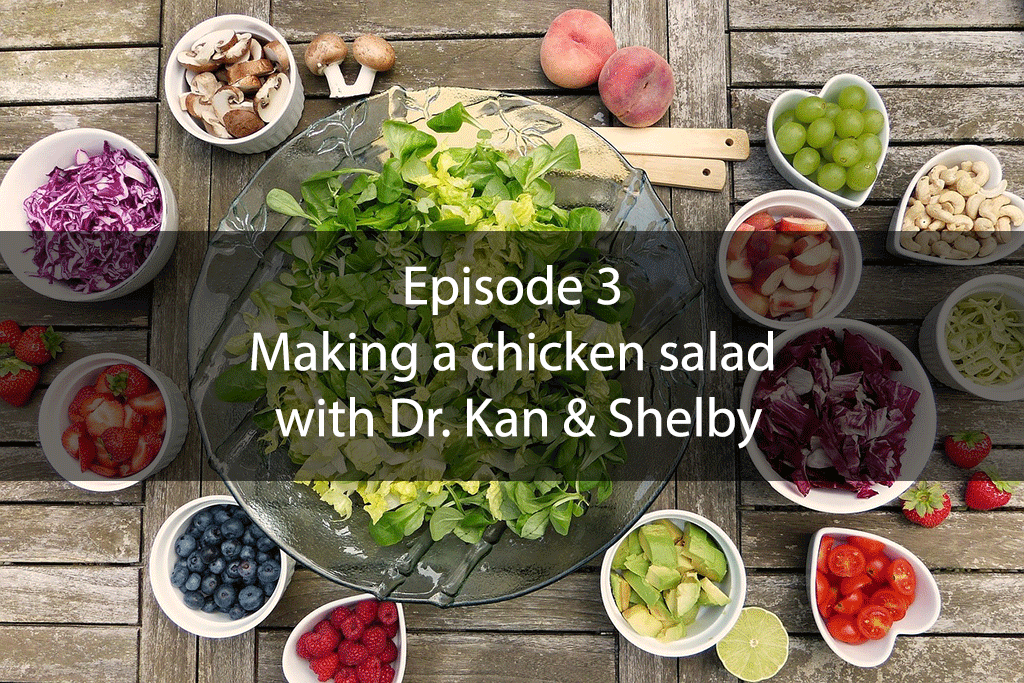 The Mix – Episode 3 – Making a chicken salad with Dr. Kan & Shelby