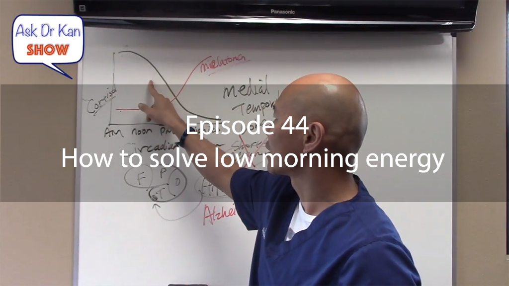 AskDrKan Show – Episode 44 – How to solve low morning energy