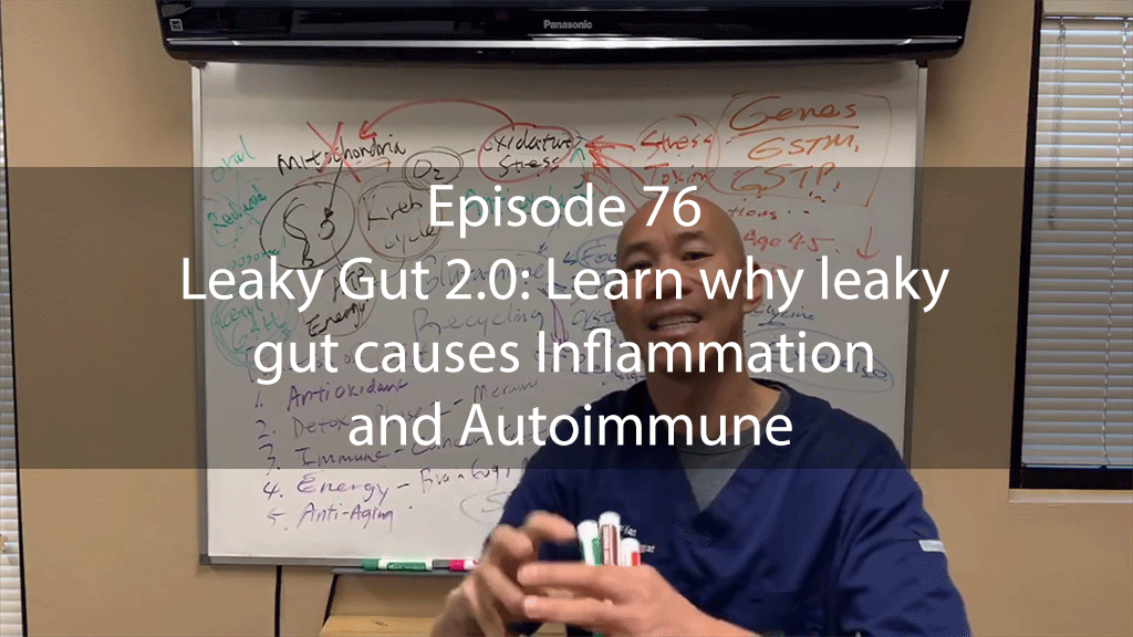 AskDrKan Show – Episode 76 – Leaky Gut 2.0: Learn why leaky gut causes Inflammation and Autoimmune