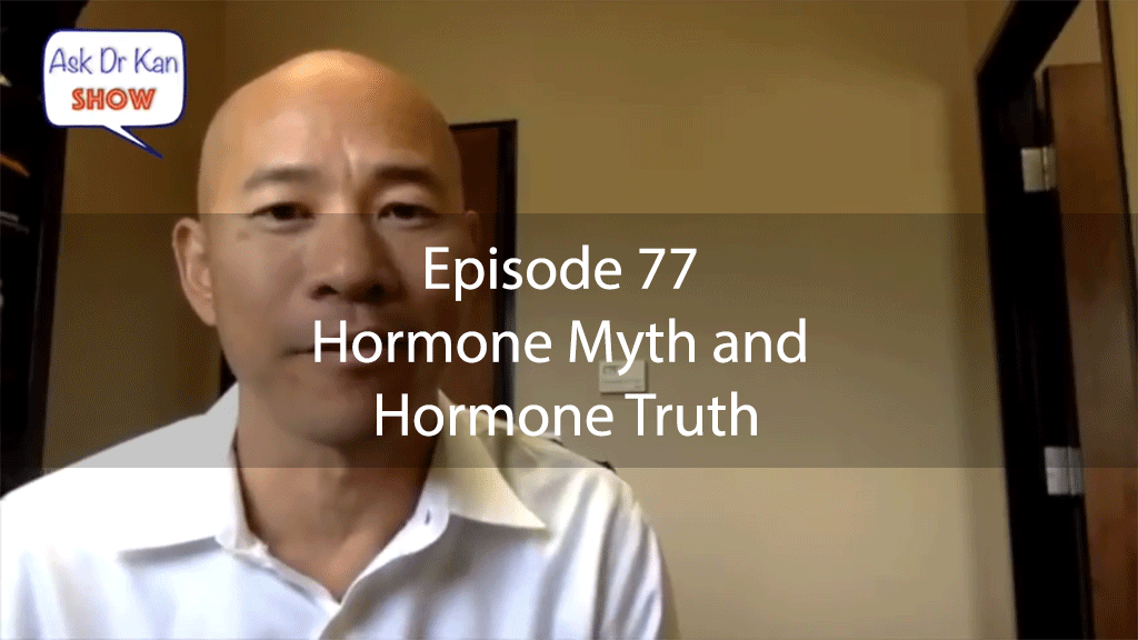 AskDrKan Show – Episode 77 – Hormone Myth and Hormone Truth