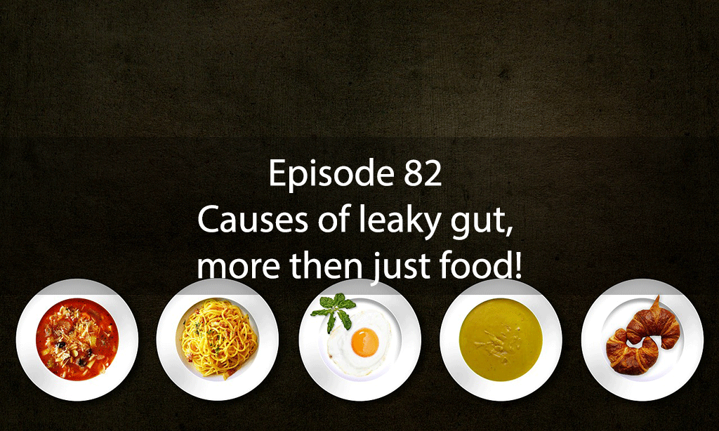 AskDrKanShow – Episode82: Causes of leaky gut, more then just food!