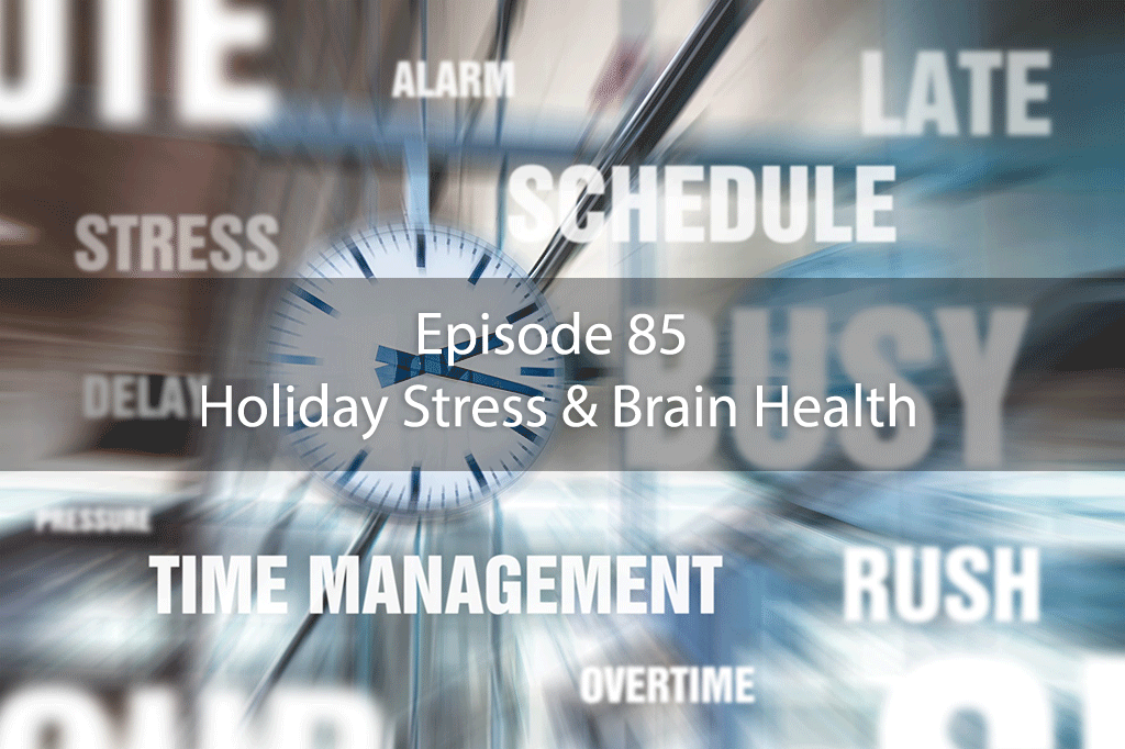 AskDrKan Show – Episode 85: Holiday Stress & Brain Health