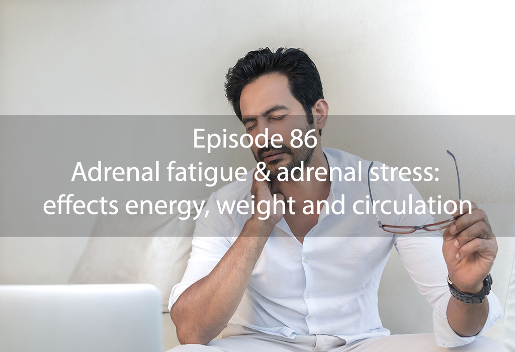 AskDrKan Show – Episode 86: Adrenal fatigue & adrenal stress: effects energy, weight and circulation