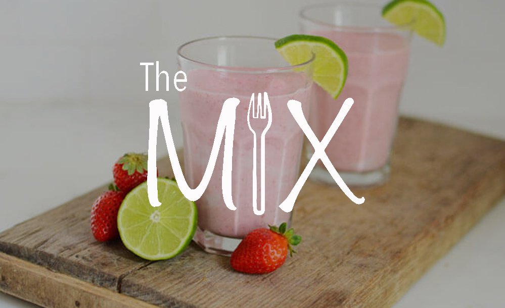 The Mix – Episode 49: Strawberry Lime Detox Smoothie
