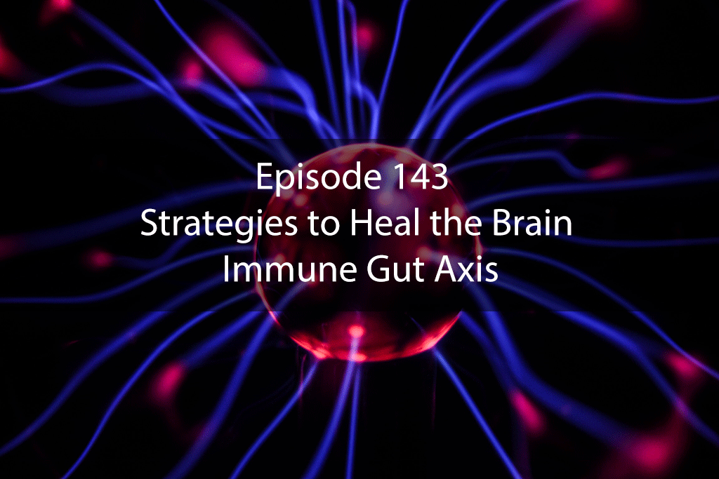Ask Dr Kan Show Ep 143 – Strategies to Heal the Brain Immune Gut Axis