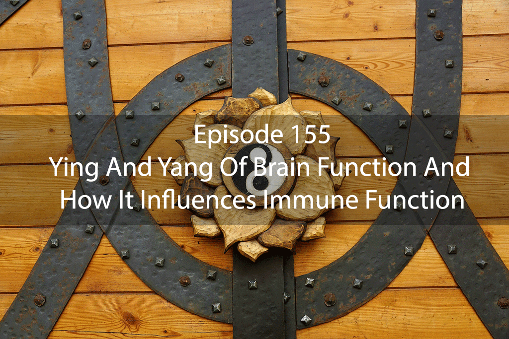 Ask Dr Kan Ep 155 – Ying And Yang Of Brain Function And How It Influences Immune Function