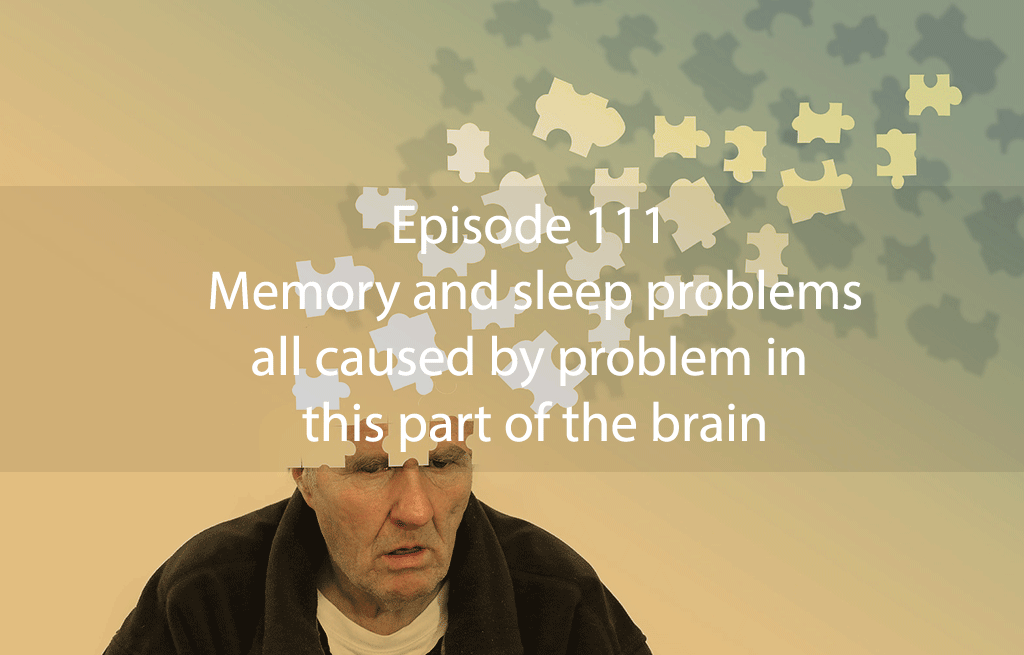 Ask Dr Kan Episode 111 – Memory and sleep problems all caused by problem in this part of the brain