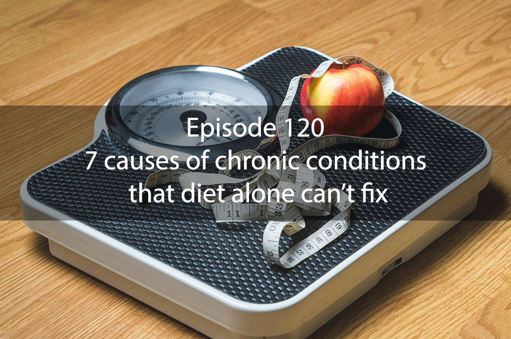 Ask Dr Kan Episode 120 – 7 causes of chronic conditions that diet alone can't fix