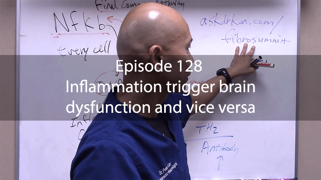 Ask Dr Kan Episode 128 – Inflammation trigger brain dysfunction and vice versa