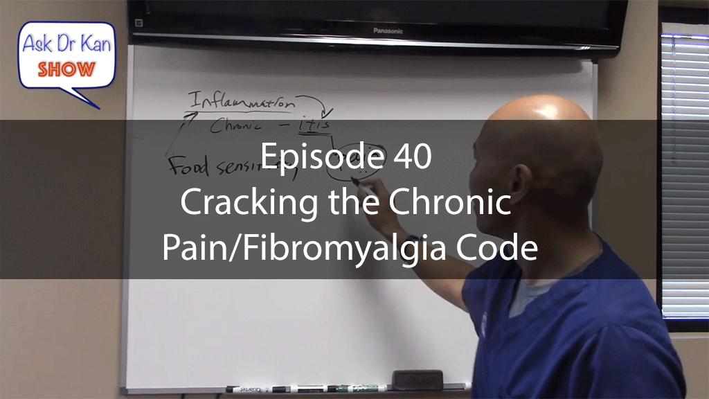 AskDrKanEpisode40 – Cracking the Chronic Pain/Fibromyalgia Code