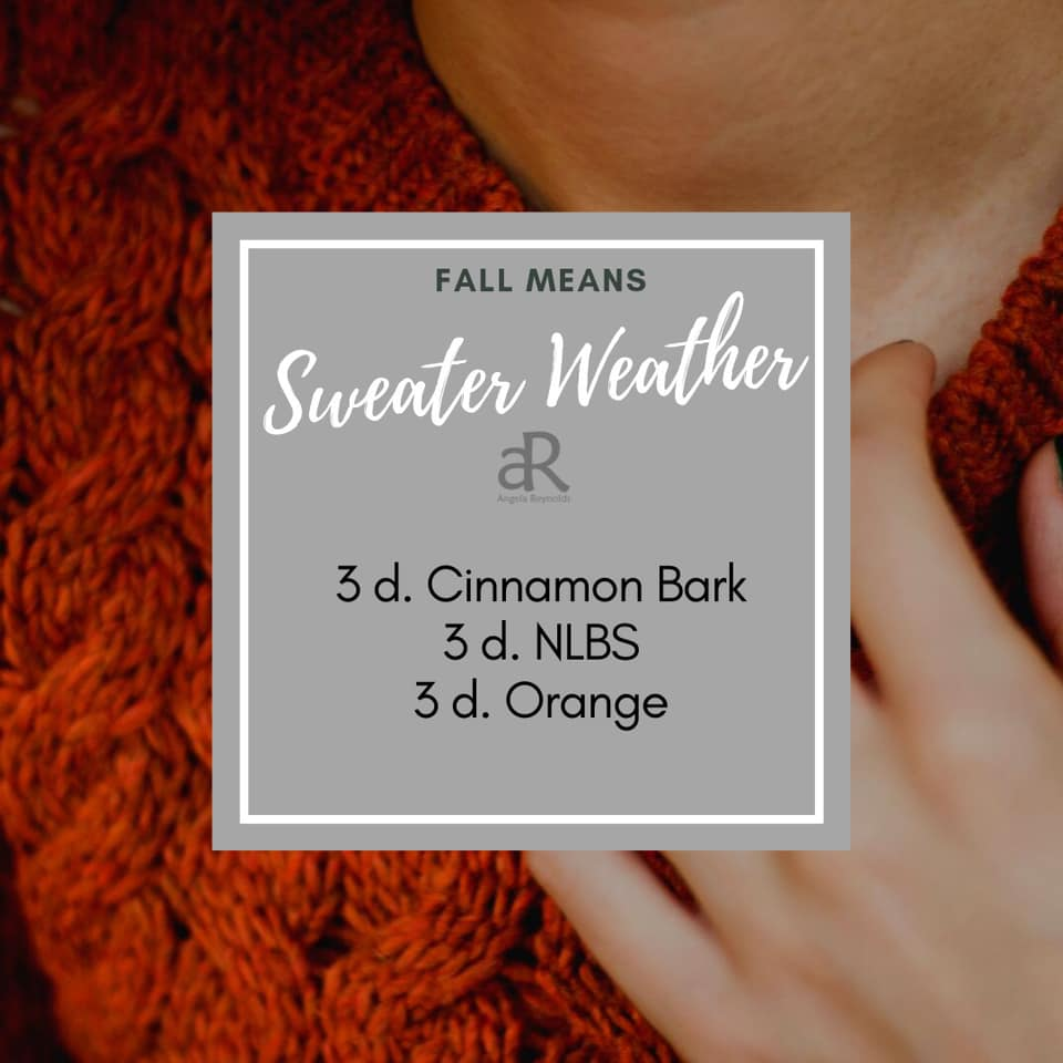 Sweater Weather Diffuser Recipe