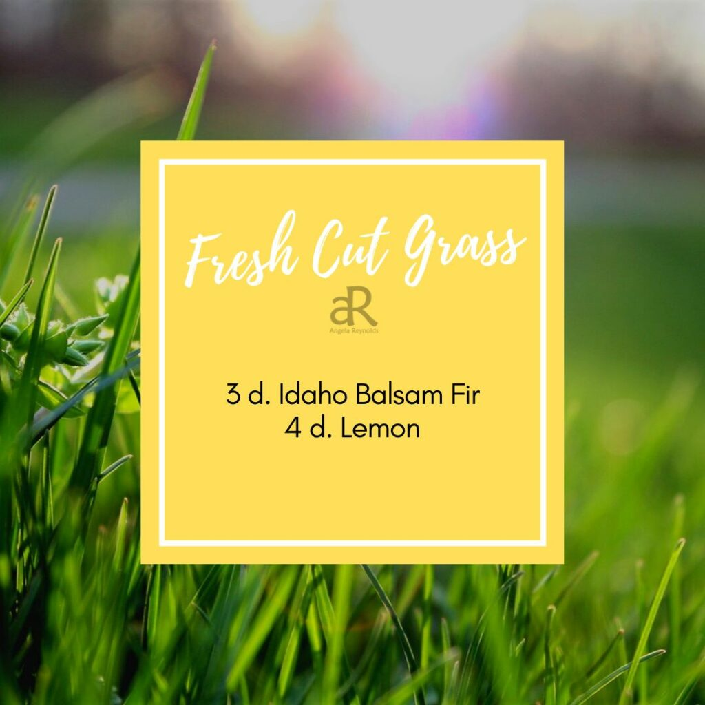 Fresh Cut Grass Diffuser Recipe