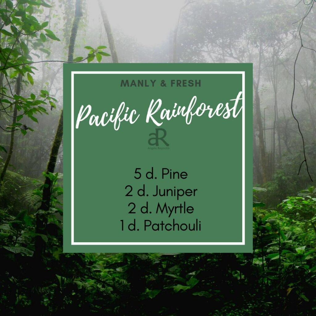 Pacific Rainforest Diffuser Recipe