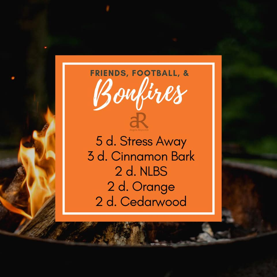 Friends, Football, and Bonfires Diffuser Recipe