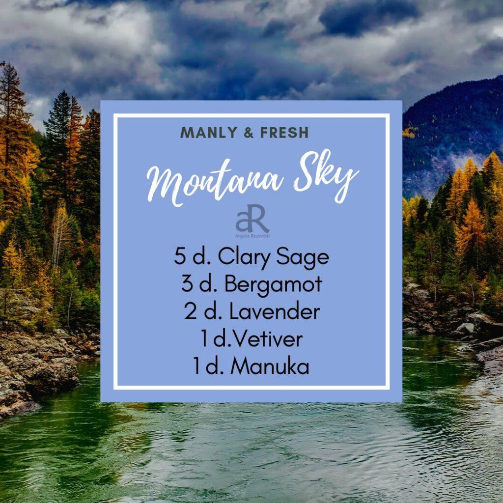 Montana Sky Diffuser Recipe