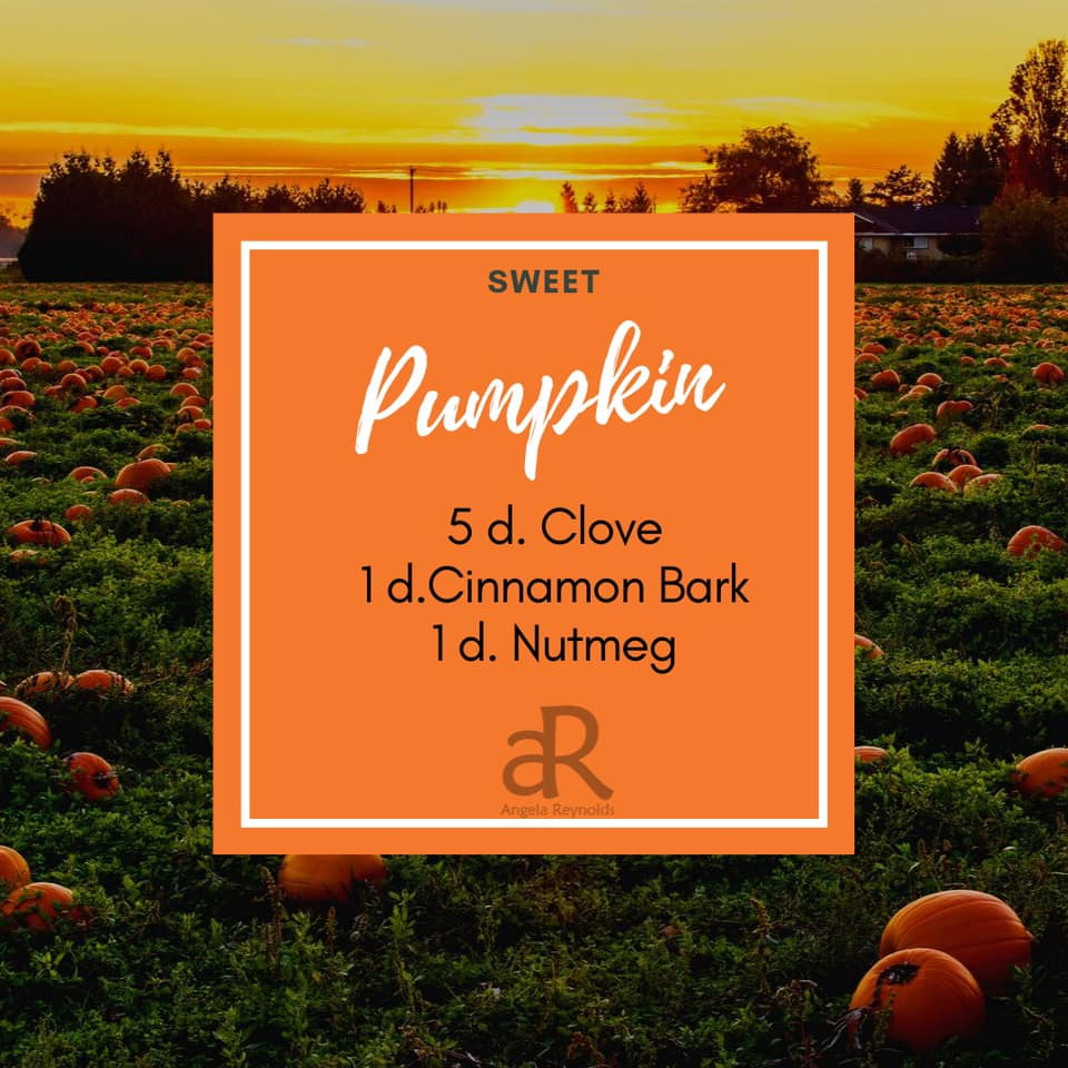 Sweet Pumpkin Diffuser Recipe