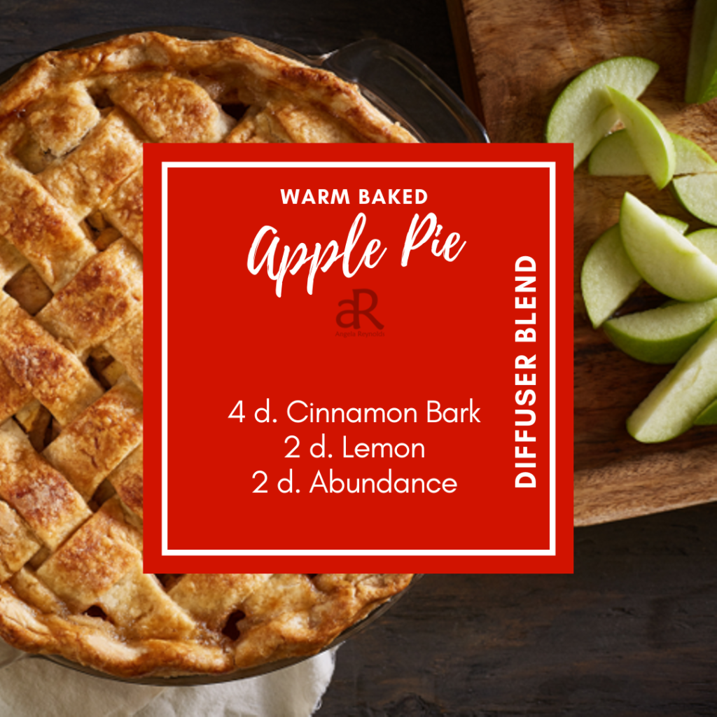 Warm Baked Apple Pie Diffuser Recipe