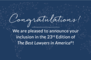 2016 Best Lawyers In America