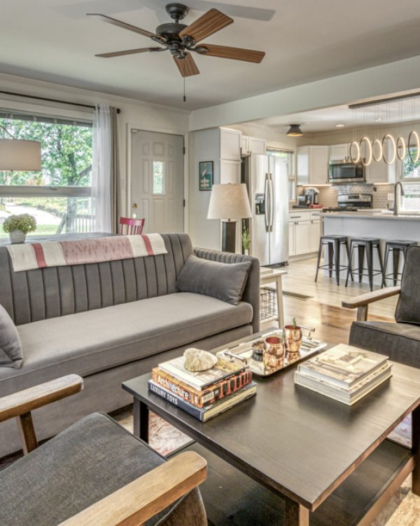 Open-plan Living and Dining Room