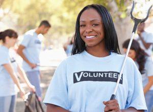 black-volunteer