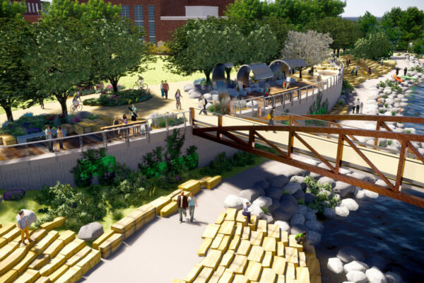 Poudre River White Water Park Rendering