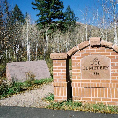 Aspen - Ute Cemetery - Historic Preservation