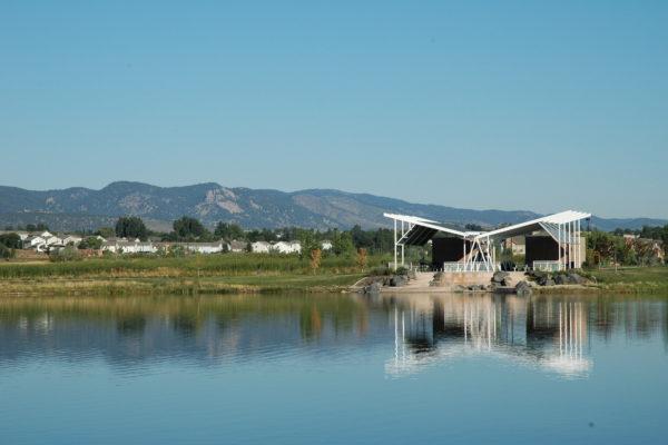 Fossil Creek Park - Lake Pavilion
