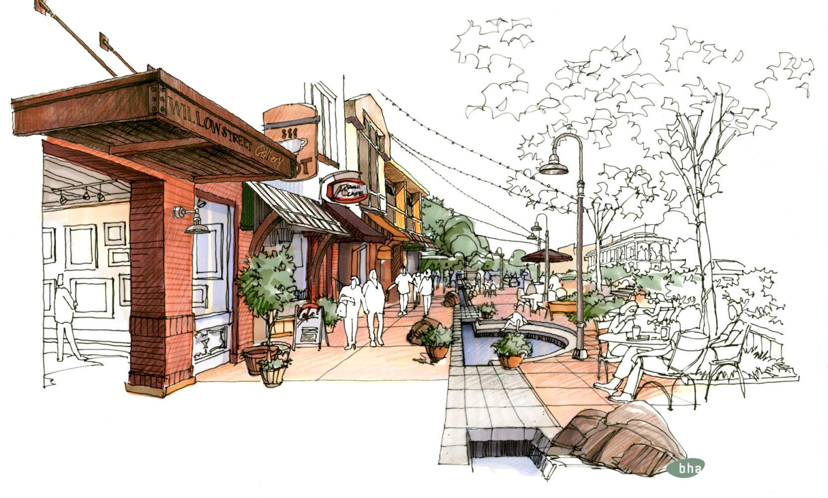 Beet Street - Concept Rendering