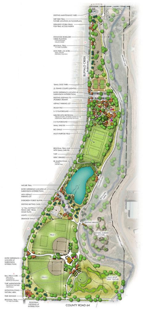 Buffalo Creek Park Masterplan