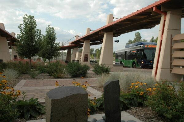 Fort Collins South Transit Center - BRT Station